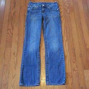 Girls True Religion Straight Jeans Size 12